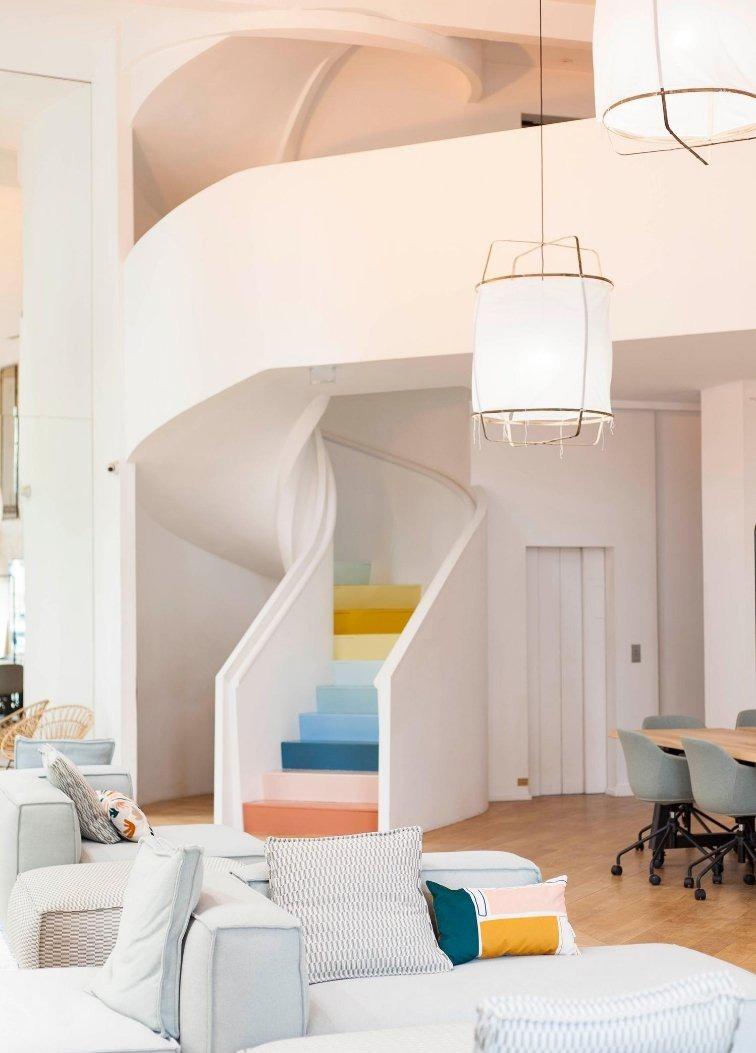 Mise en valeur d'un escalier